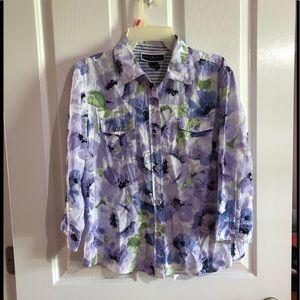 Like new Karen Scott extra large petite blouse